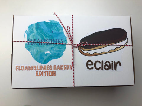 Eclair DIY Bakery Box Slime