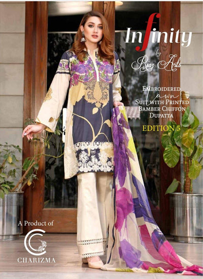 Charizma Infinity Lawn Collection