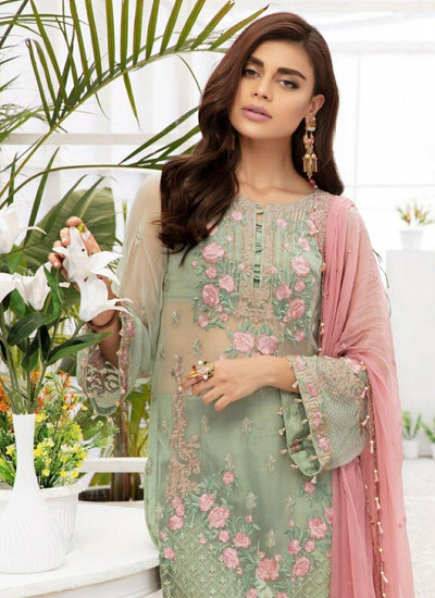 Reemal Khan Luxury Chiffon
