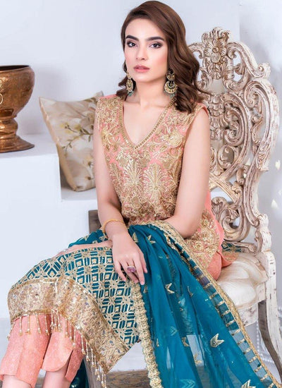 Jannan Premium Embroidered Chiffon/Riaz Arts