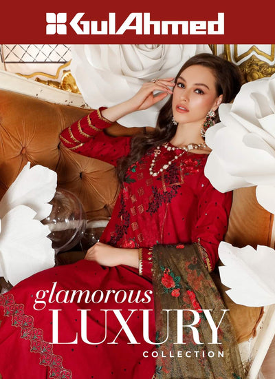 Gul Ahmed Glamorous Luxury Collection
