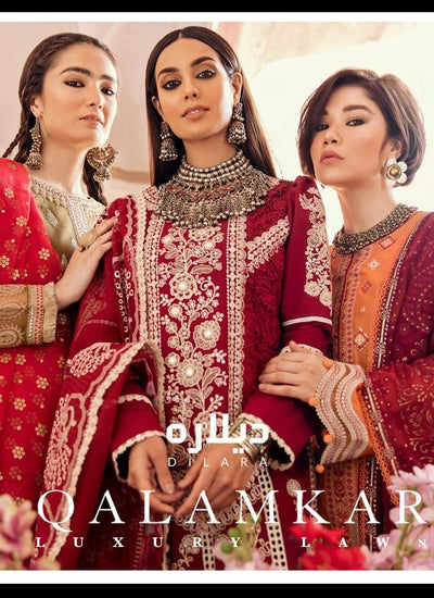 Qalamkar Luxury Lawn 2021