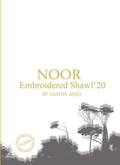 Noor Winter Shawl by Saadia Asad
