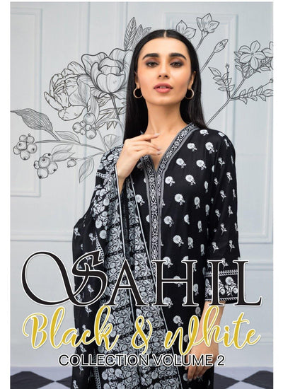 Sahil Black and White Collection