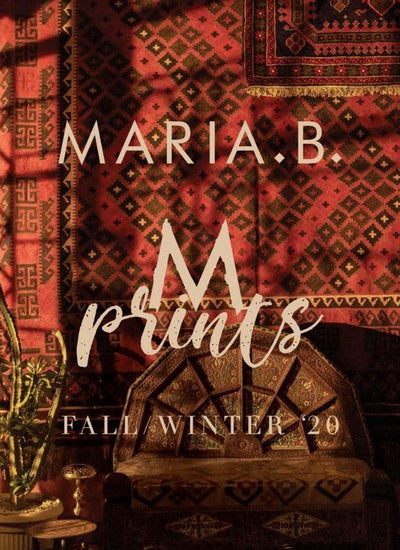Maria B M Prints Fall Winter