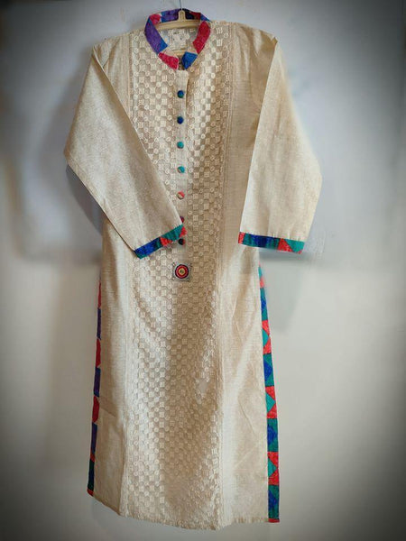 Ready to Wear|Smart Office Kurti|Size M - AWWALBOUTIQUE