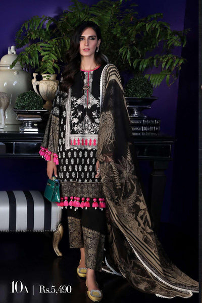 Sana Safinaz Pre-Fall Embroidered Collection 2019 – 10A