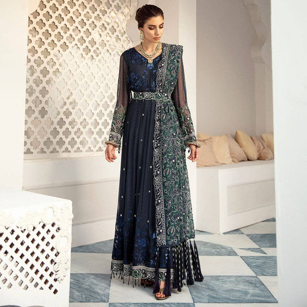 Nureh Mor Bagh Luxe Chiffon/NL-16