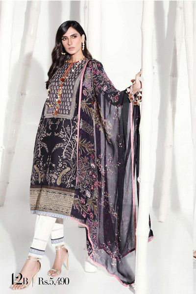 Sana Safinaz Pre-Fall Embroidered Collection 2019 – 12B
