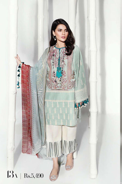Sana Safinaz Pre-Fall Embroidered Collection 2019 – 13A