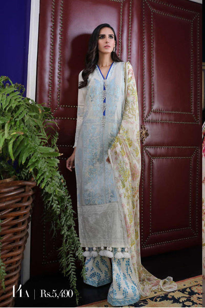 Sana Safinaz Pre-Fall Embroidered Collection 2019 – 14A