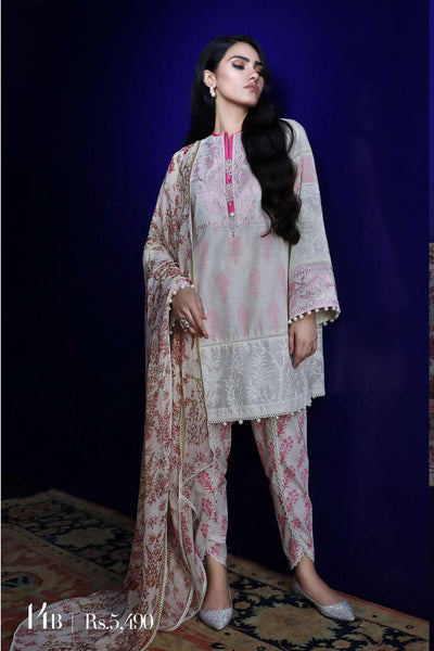 Sana Safinaz Pre-Fall Embroidered Collection 2019 – 14B