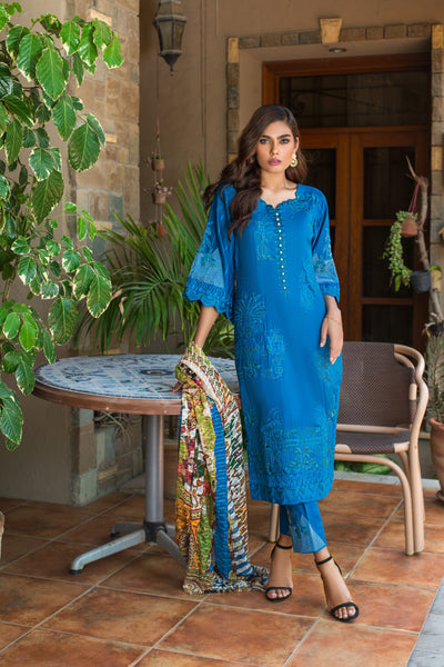 Kalyan Festive Lawn Collection Vol 3– KV3-1