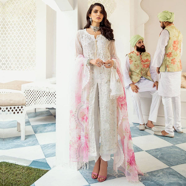 Nureh Mor Bagh Luxe Chiffon/NL-10