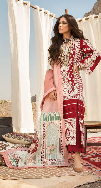 Restocked/Crimson Winter by Saira Shakira/AARI REVIVAL - RUBY - AWWALBOUTIQUE
