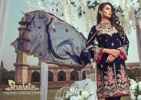 Shaista Velvet Luxury Collection/Rung e Zeest/Wedding Attire