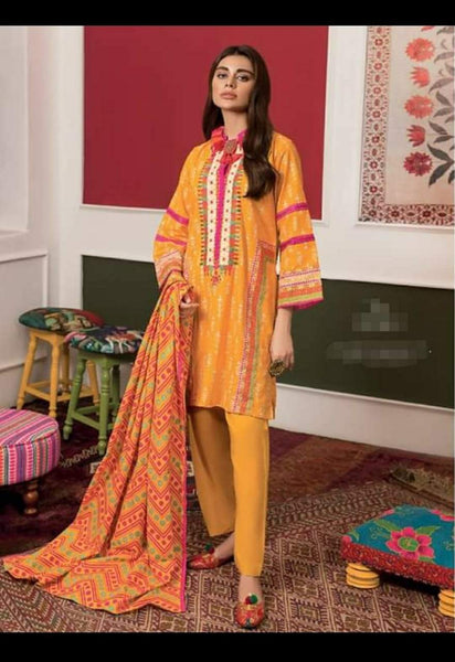 Khaadi Winter Vibe Collection/KB19507A/3Pc