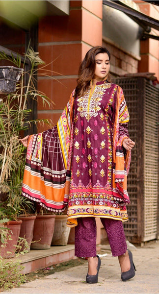 img_bin_saeed_chiknakari_lawn_collection_awwal_boutique