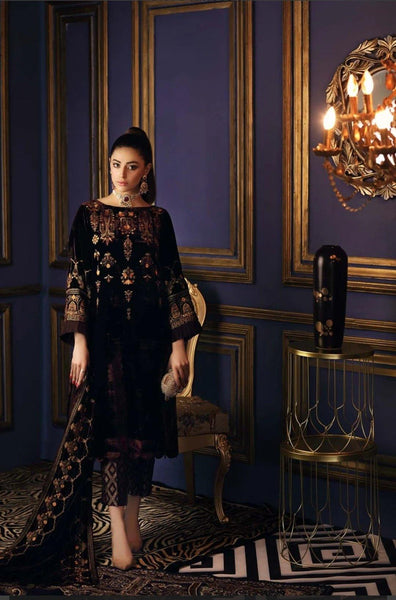 Charizma Signora Velvet Collection/Glinted Night VVT-01 - AWWALBOUTIQUE