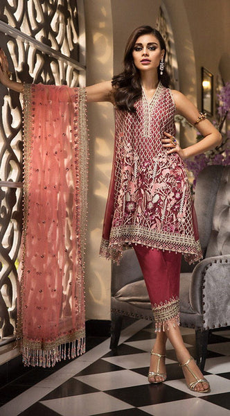 Anaya by Kiran Chaudhry – La Belle Soiree Festive Collection 2019 – Roselle