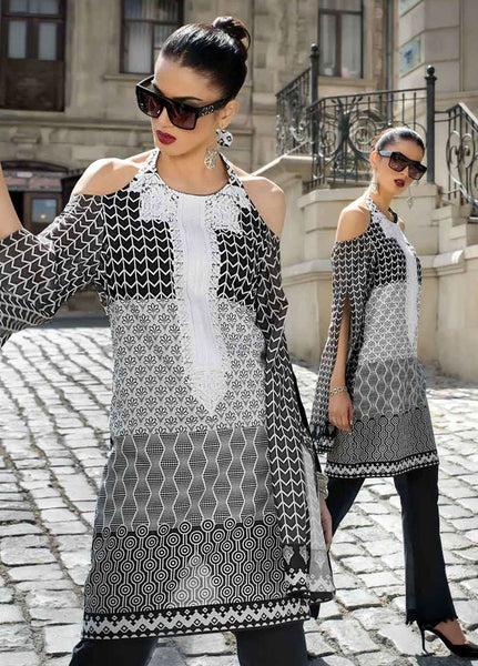 Gul Ahmed Noire\Black&White Collection\SB 12\Kurti