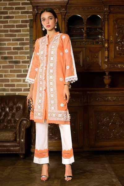 Gul Ahmed Formal Brights Collection PST01 – Zesty Peach