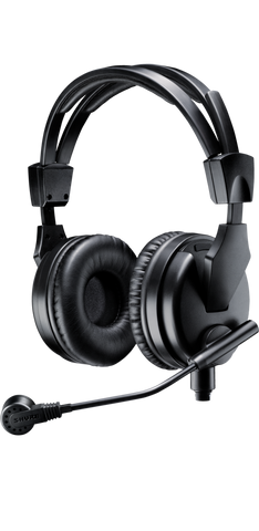 BRH50M - Premium dual-sided broadcast headset with cardioid dynamic microphone