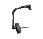 BLX14/B98 - Bodypack system with WB98H/C clip-on cardioid condenser instrument microphone.