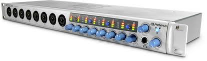 10x10 FireWire Interface w. 8 Preamps