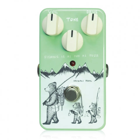 "ANIMALS FISHING-IS-AS-FUN-AS-FUZZ -  ""Civil War""-inspired fuzz pedal"