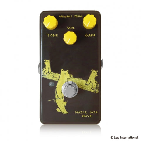 "ANIMALS MAJOR-OVERDRIVE -  ""Plexi""-inspired overdrive pedal"