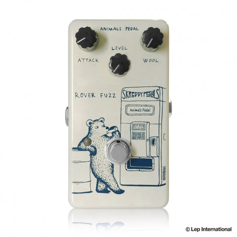 "ANIMALS ROVER-FUZZ -  ""Tone Bender""-inspired fuzz pedal"