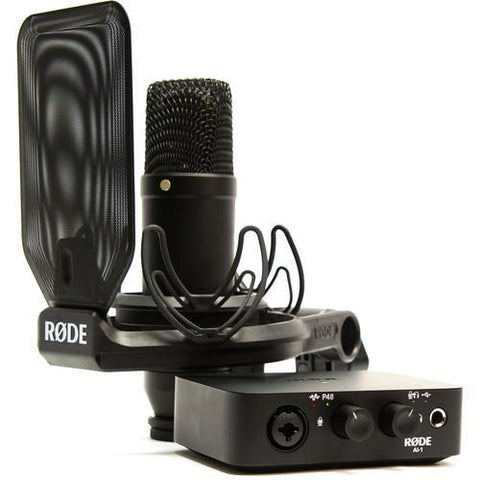 Rode NT1/AI-1 - Complete Microphone Studio Kit