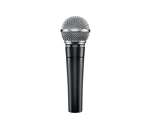 SM58S - Cardioid dynamic microphone with on/off switch