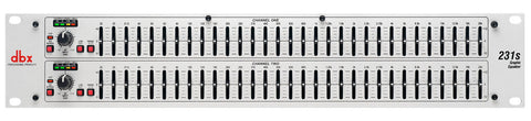 DBX 231s - Dual Channel 31-Band Equalizer