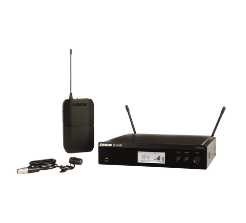 BLX14R/W85 - Wireless Rack-mount Presenter System with WL185 Lavalier Microphone