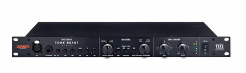 TB12-BLACK - Tone Shaping Microphone Preamps