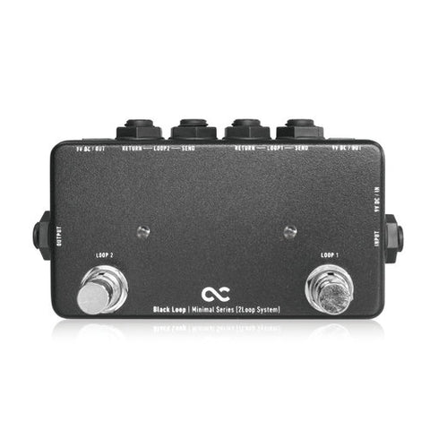 BLACK-LOOP - 2-Channel Loop Switcher