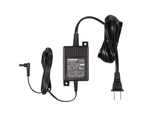 PS24US In-line power supply (100-240V AC) for receivers.