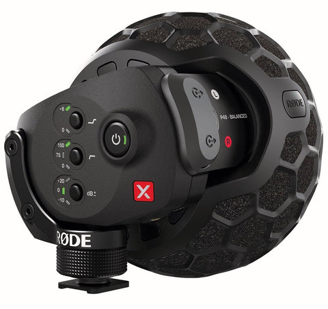 RODE STEREO VIDEOMIC X - Broadcast-grade stereo on-camera microphone