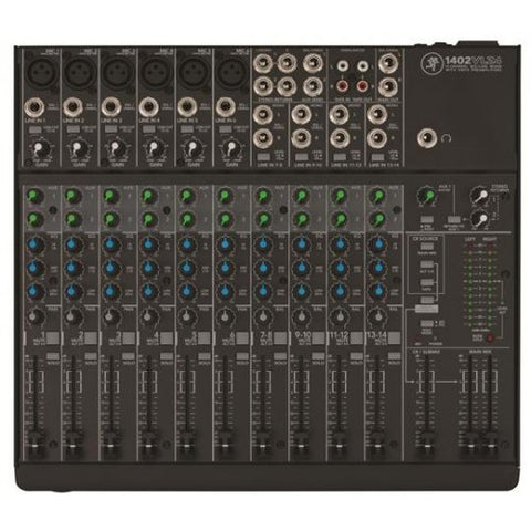 MACKIE 1402VLZ4 - 14-CHANNEL MIXER