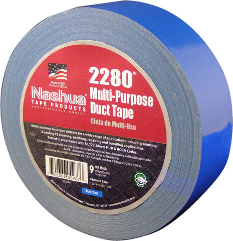 "Multi-Purpose 2"" Duct Tape Blue (180')"