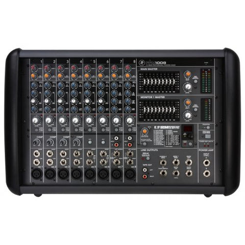 PPM1008 - 1600WATT POWERED 8-CHANNEL MIXER WITH EFFECTS
