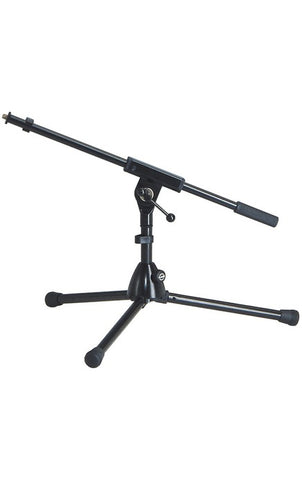 extra low-level steel microphone stand