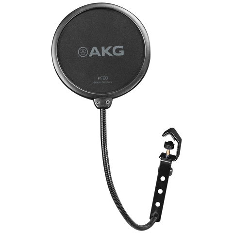 AKG PF80 - Universal pop filter for use with vocal recording microphones