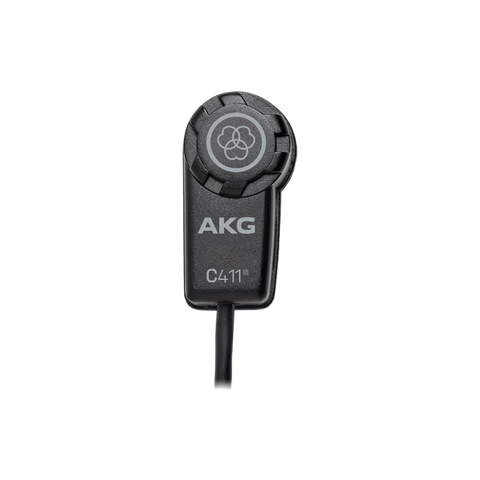 AKG C411L - Miniature condenser vibration pickup with MPAV XLR