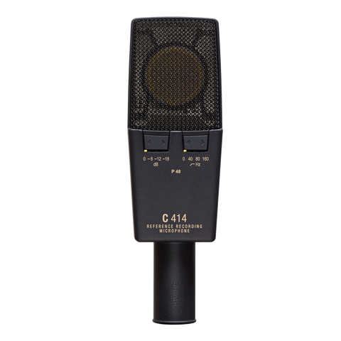 AKG C414XL II - Reference multipattern condenser microphone