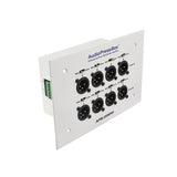 AudioPressBox APB-008 IW-EX - In wall 8 Line/MIC Outputs Expander