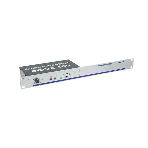 "AudioPressBox APB-D100 R - Active 19"" rack AudioPressBox distribution Drive unit"