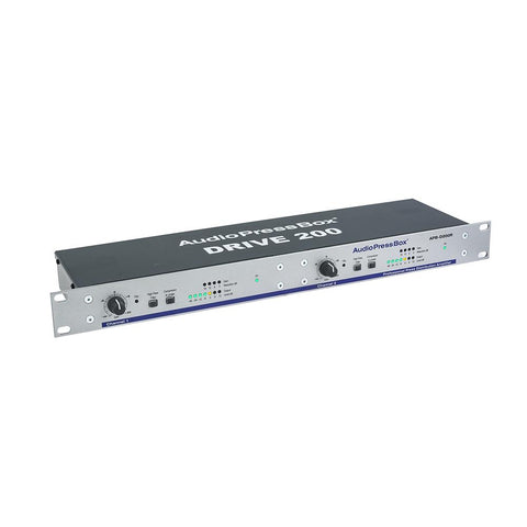 "AudioPressBox APB-D200 R - Active 19"" rack AudioPressBox distribution Drive Unit, 2 LINE Inputs"